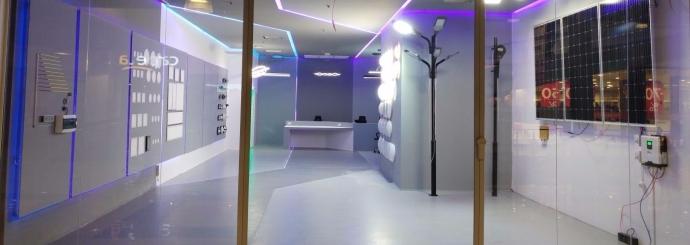 showroom iluminat ieftin
