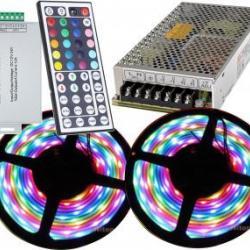 Kit banda LED RGB 10m