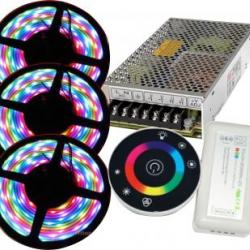 KIT BANDA LED RGB 15M
