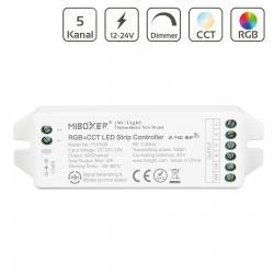 Controler pentru 1 pn la 8 zone RF RGB  CCT FUT039 MiBoxer MiLight