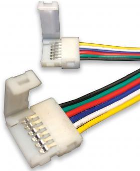 Conector 6 pini banda led RGBWW