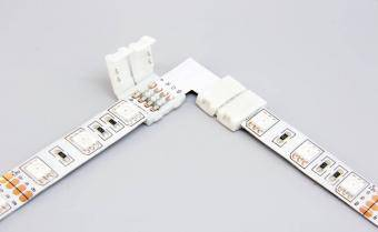 Conector 90 banda led RGB