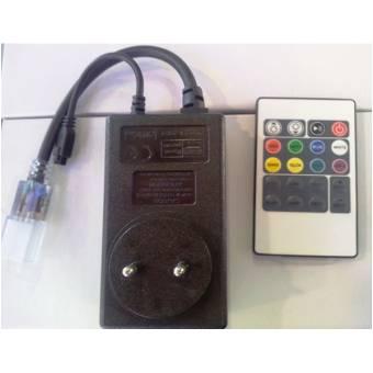 Controler RGB 220V 1000W cu telecomanda IR