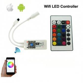 Controler RGB SMART WiFi cu telecomanda IR