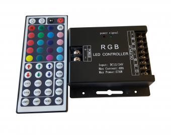 Controler RGB cu telecomanda IR