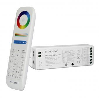 Controler RGBW cu telecomanda 8 zone