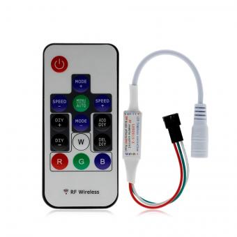 Controler banda led RGB digitala