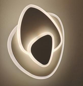 Aplica LED 3 functii Alba