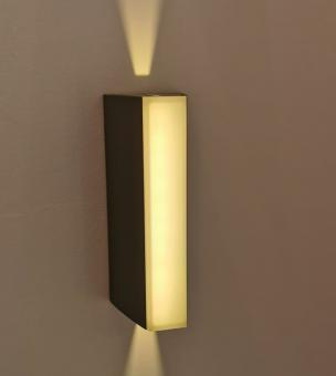 Aplica LED de fatada 3 unghiuri iluminare