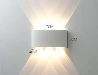 Aplica LED de fatada alba