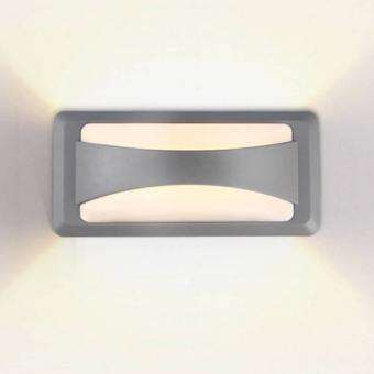 Aplica LED de fatada bizonala