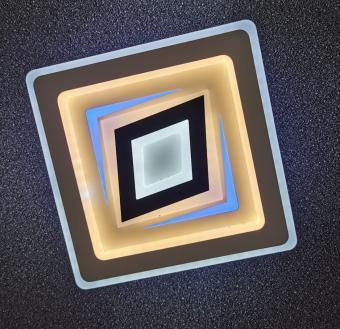 Aplica LED decor albastru
