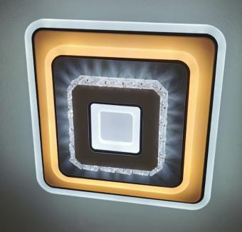 Aplica LED patrata Cristal