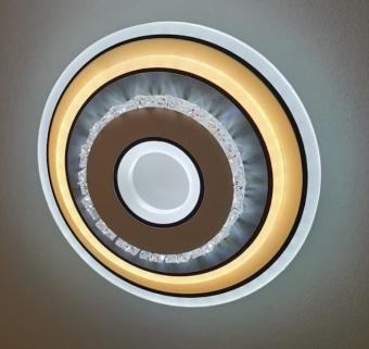 Aplica LED rotunda Cristal