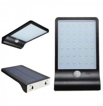 Aplica LED solara cu senzor de miscare