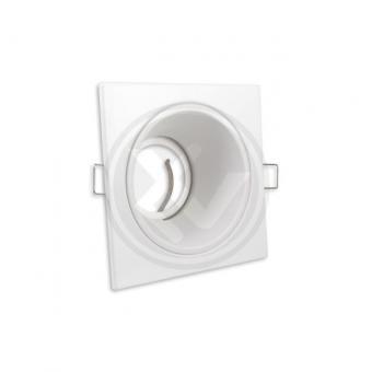 Rama patrata spot LED alb