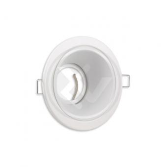 Rama rotunda spot LED alb