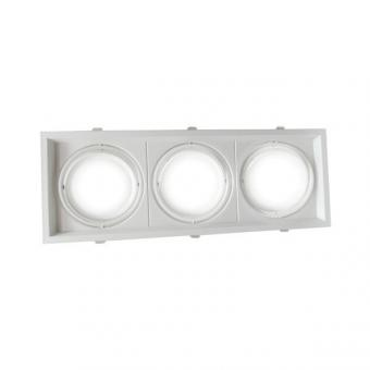 Rame de montaj spot LED orientabil 3 x AR111