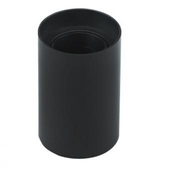 Spot Tubular aplicat soclu GU10 negru