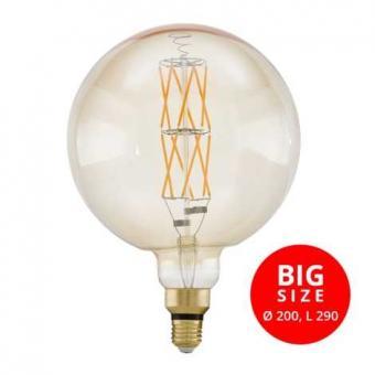 Bec LED dimabil G200 Vintage
