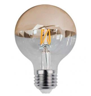Bec LED filament cu oglinda