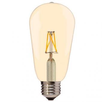 Bec LED filament vintage ST64