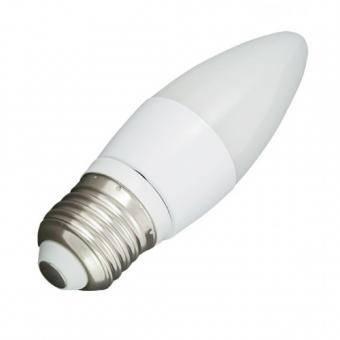 Bec LED mat tip lumanare E27