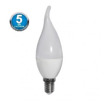 Bec LED mat tip lumanare PREMIUM