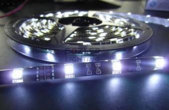 Banda LED 5050 exterior suport negru