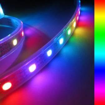 Banda LED RGB 60 buc-m exterior