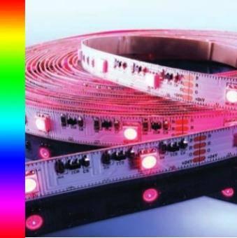 Banda LED RGB 60 buc-m interior