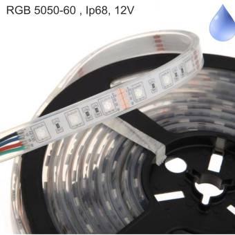 Banda LED RGB submersibila 60 buc-m