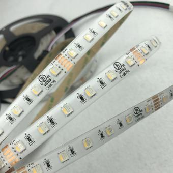 Banda LED RGBW exterior cu lumina calda