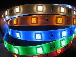 Banda color LED 5050 60 buc-m interior