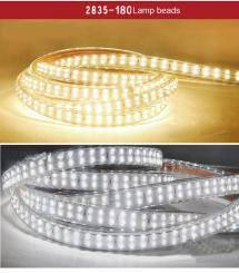 Banda LED dubla 220V 2835 180buc-m