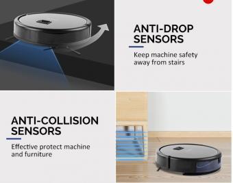 Robot aspirator camera cu app compatibil ALEXA