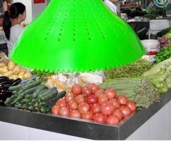 Lampa LED magazin legume