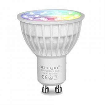 Bec LED inteligent GU10 RGBW MiLight