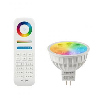 Bec LED inteligent MR16 RGBW MiLight 4W