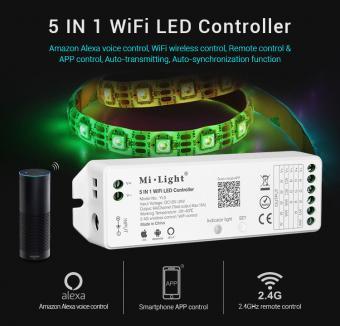 Controler banda LED MiLight control ALEXA