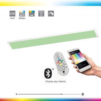 Panou LED 30x120 SMART RGB CCT cu telecomanda compatibil ALEXA