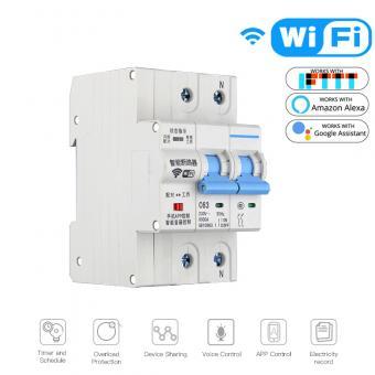 Siguranta automata 40A bipolara SMART WiFi
