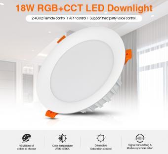 Spot LED SMART RGB CCT cu telecomanda MiLight 18W