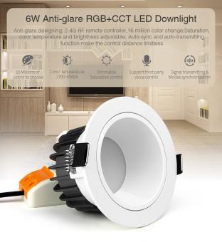 Spot LED SMART RGB CCT cu telecomanda MiLight