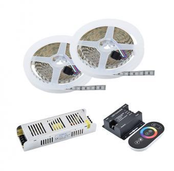 Kit 10m banda LED RGB 120 led-m
