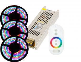 Kit banda led RGB interior 15M
