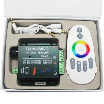 Kit RGB muzical 15m
