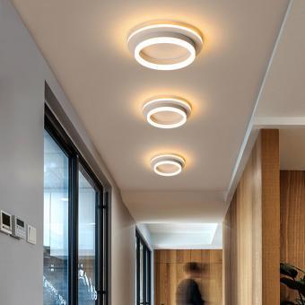 Lustra LED 3 functii Alba