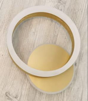 Lustra LED 3 functii Gold