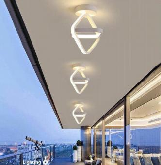 Lustra LED 3 functii Patrate